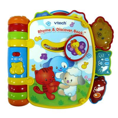 VTech Rhyme & Discover Book cover