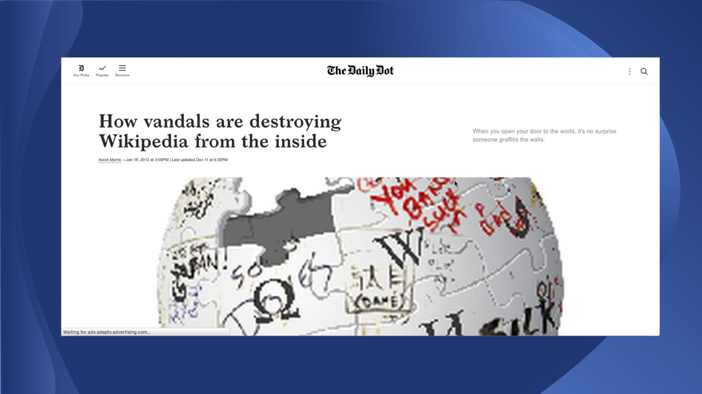 wiki-vandals
